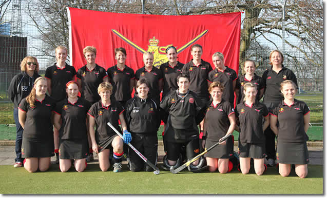 Ladies Army Hockey Team
