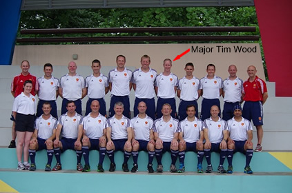 England Over 40's Master Team