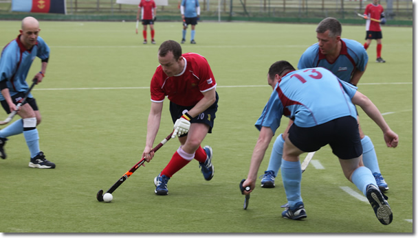 Executive Page Masters Inter Services Game photo