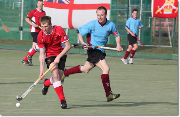 Under 23's hockey match